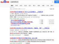 百度seo新干货:你的网站快照乱码了吗?